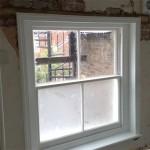 wooden window restored