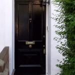 Front door restored