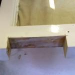 Rotten window repairing process